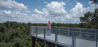 Green Mountain Scenic Overlook near Lake Apopka