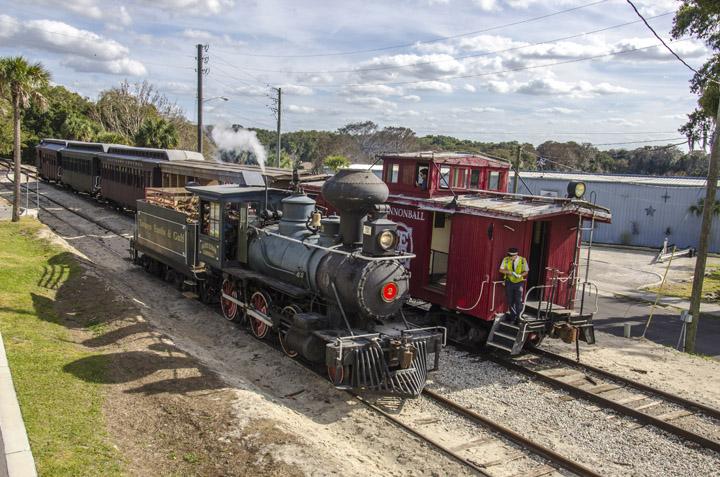 Historic Train in Mount Dora