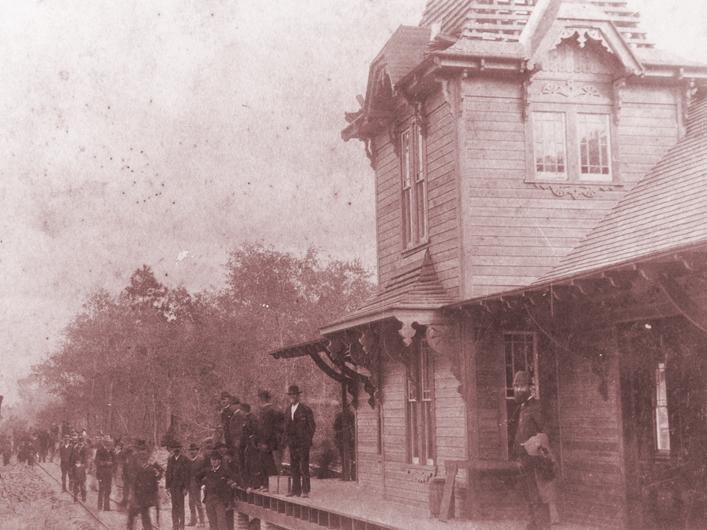 Orange Belt RR Station 1886